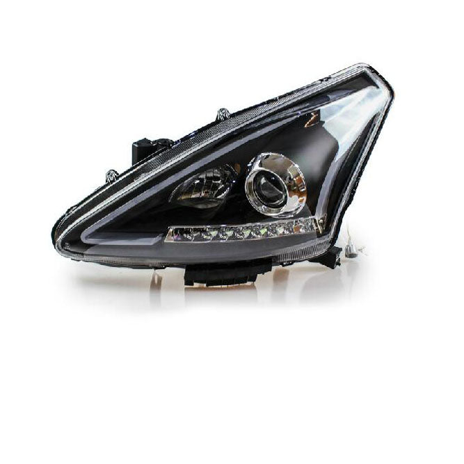 LED DRL Bi-xenon Headlights For  Nissan Tiida 2011-2015 - Any Car Accessories