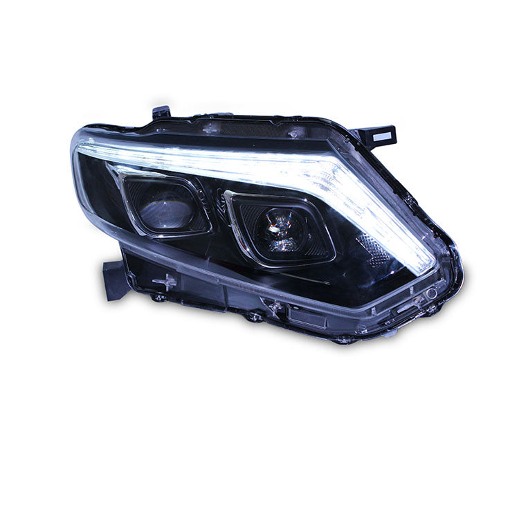 LED DRL Bi-xenon Headlights For Nissan X-Trail 2014-2016,  - Any Car Accessories