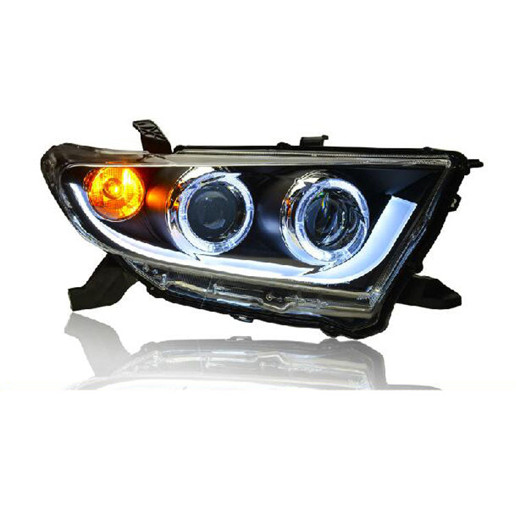 LED DRL Bi-xenon  Headlights For Toyota Highlander 2012-2013,  - Any Car Accessories