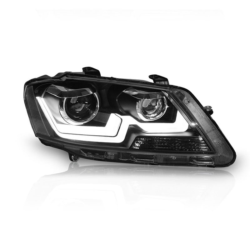 LED DRL Bi-xenon  Headlights For VW Volkswagen Lavida 2013 2014,  - Any Car Accessories