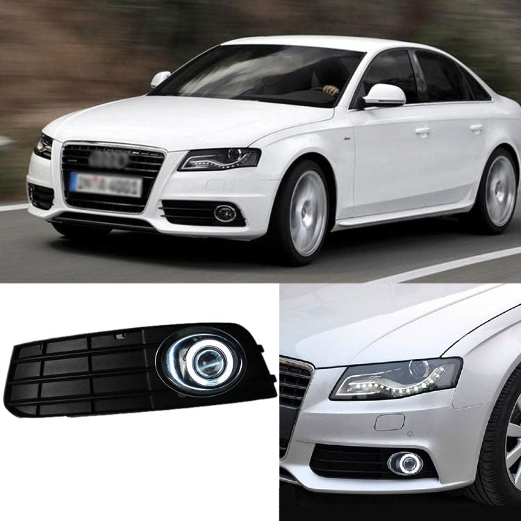 Daytime Running Angel Eye Fog Lights For Audi A4 B8 - Any Car Accessories