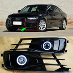 Daytime Running Angel Eyes Fog Lights For Audi A6 2016 - Any Car Accessories