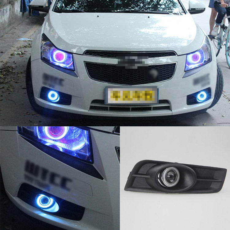 Daytime Running Angel Eye Fog Lights For Chevrolet Cruze,  - Any Car Accessories