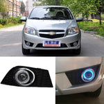 Daytime Running Angel Eyes Fog Lights For Chevrolet Lova 2009 2010 2011 2012,  - Any Car Accessories