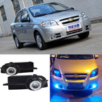 Daytime Running Angel Eye Fog Lights For Chevrolet Lova 2006 2007 2008,  - Any Car Accessories