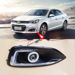 Daytime Running Angel Eye Fog Lights For Chevrolet Malibu 2015-2017,  - Any Car Accessories