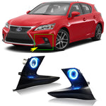 OwDaytime Running Angel Eye Fog Lights For Lexus CT200H 2015 - Any Car Accessories