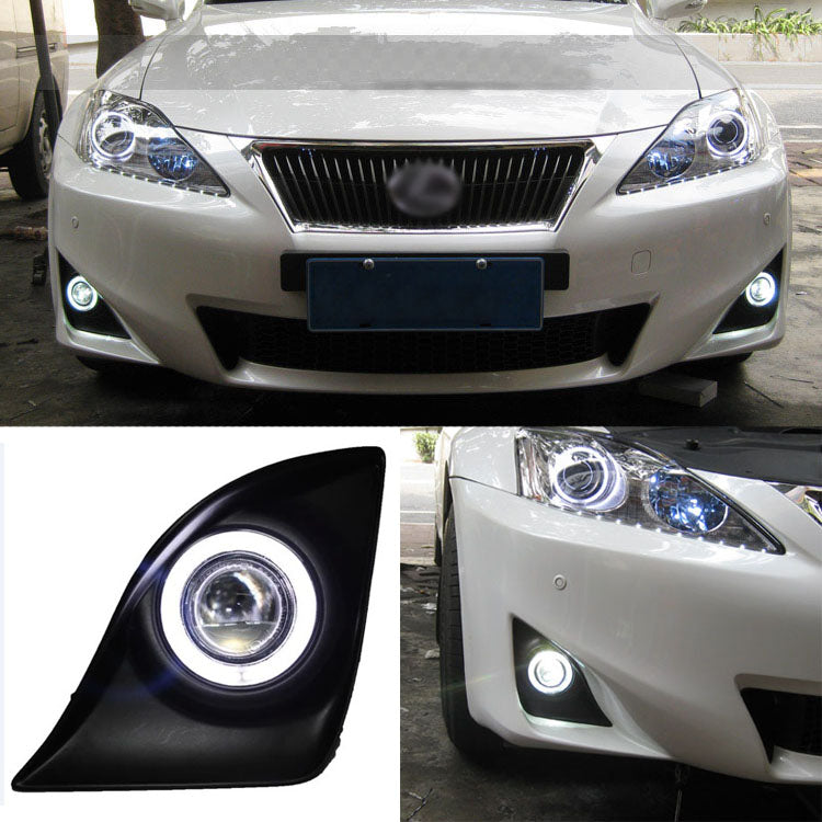Daytime Running Angel Eye Fog Lights For Lexus IS250/IS350 2011-2012,  - Any Car Accessories