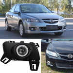 Daytime Running Angel Eyes Fog Lights For Mazda 6 Coupe 2006-2014 - Any Car Accessories