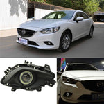 Daytime Running Angel Eye Fog Lights For Mazda 6 Atenza - Any Car Accessories