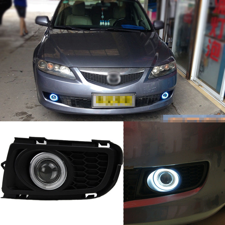 Daytime Running Angel Eyes Fog Lights For Mazda 6 2006 2007 2008 - Any Car Accessories