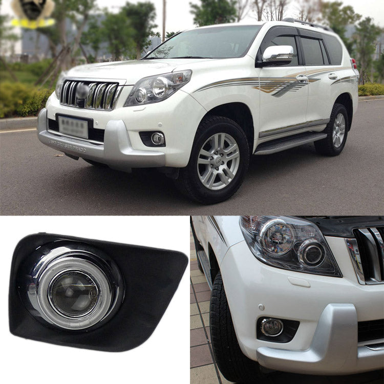 Daytime Running Angel Eye Fog Lights For Toyota Prado 2010-2012 - Any Car Accessories