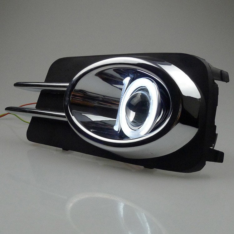 Daytime Running Angel Eye Fog Lights For Volkswagen VW Tiguan 2010 2011 2012 - Any Car Accessories