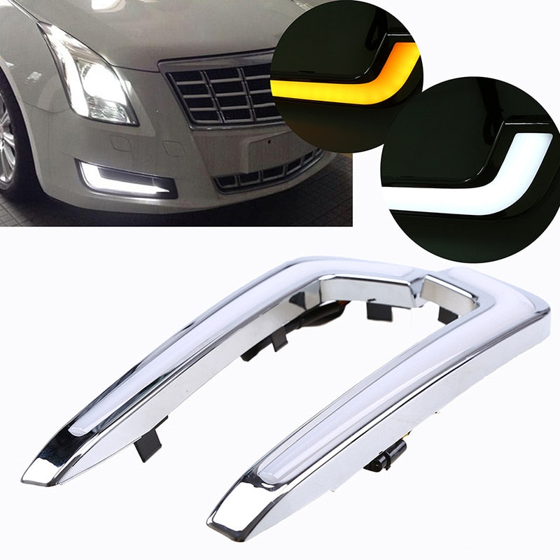 Daytime Running Fog Lights For Cadillac XTS 2013-2017 - Any Car Accessories
