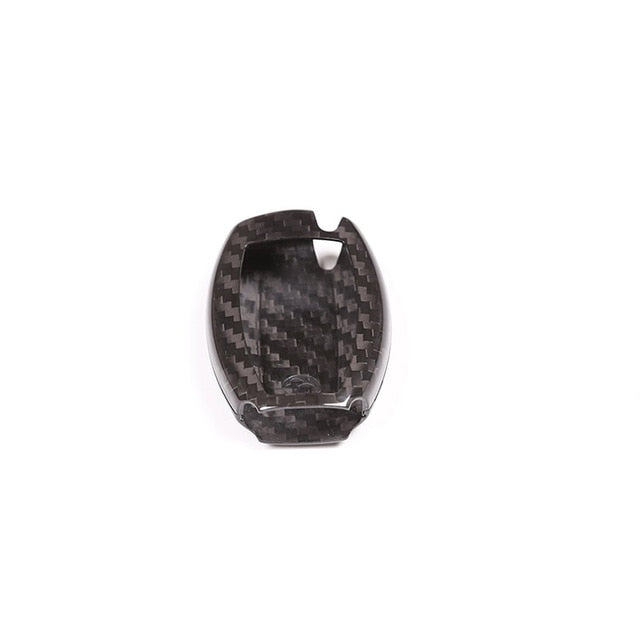 Carbon Fiber Key Remote Cover For Mercedes benz CLA GLC GLE GLA A B C E Class W117 X253 W176 W205 W213,  - Any Car Accessories