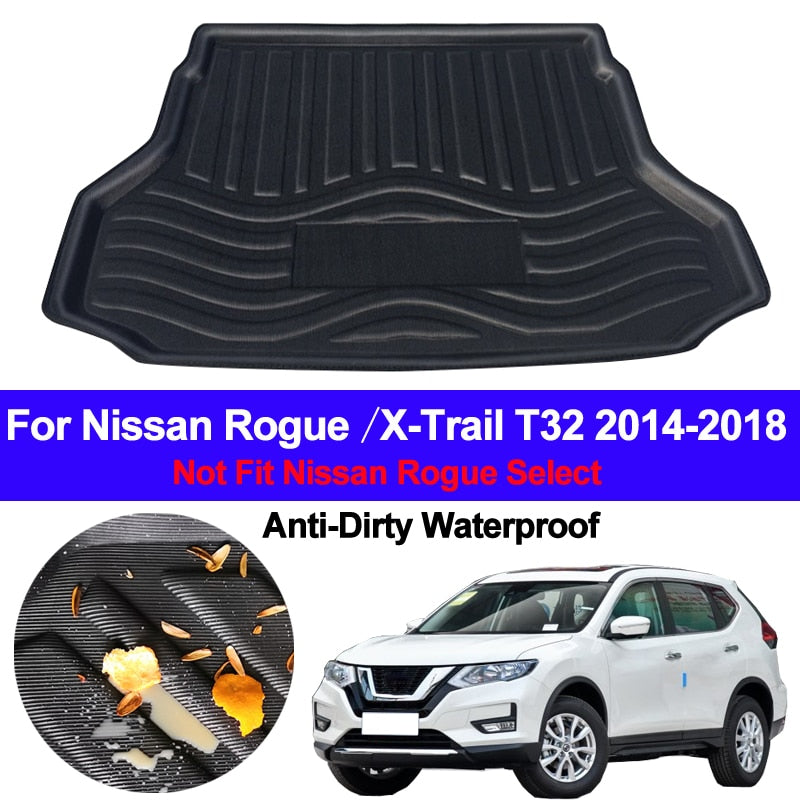 Trunk Mat Carpet Cover For Nissan X-Trail XTrail Rogue 2014 2015 2016 2017 2018 2019