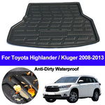 Trunk Mat Carpet Cover For Toyota Highlander Kluger 2008 2009 2010 2011 2012 2013