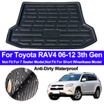 Trunk Mat Carpet Cover For Toyota RAV4 2006 2007 2008 2009 2010 2011 2012