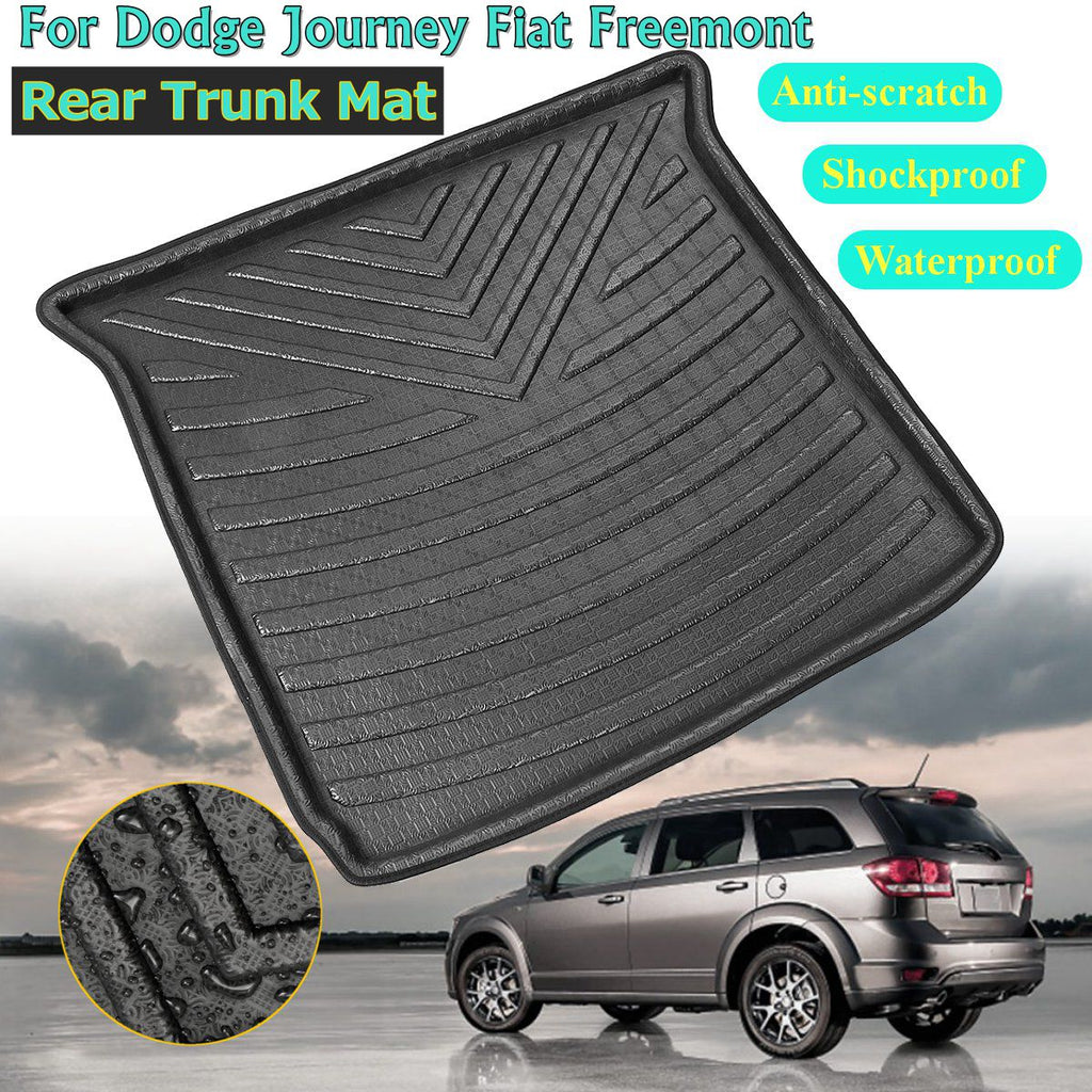 Trunk Mat Carpet Cover For Dodge Journey for Fiat Freemont Seat 2009 2010-2018
