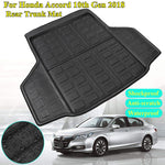 Trunk Mat Carpet Cover For Honda Accord 10th Generation 2018