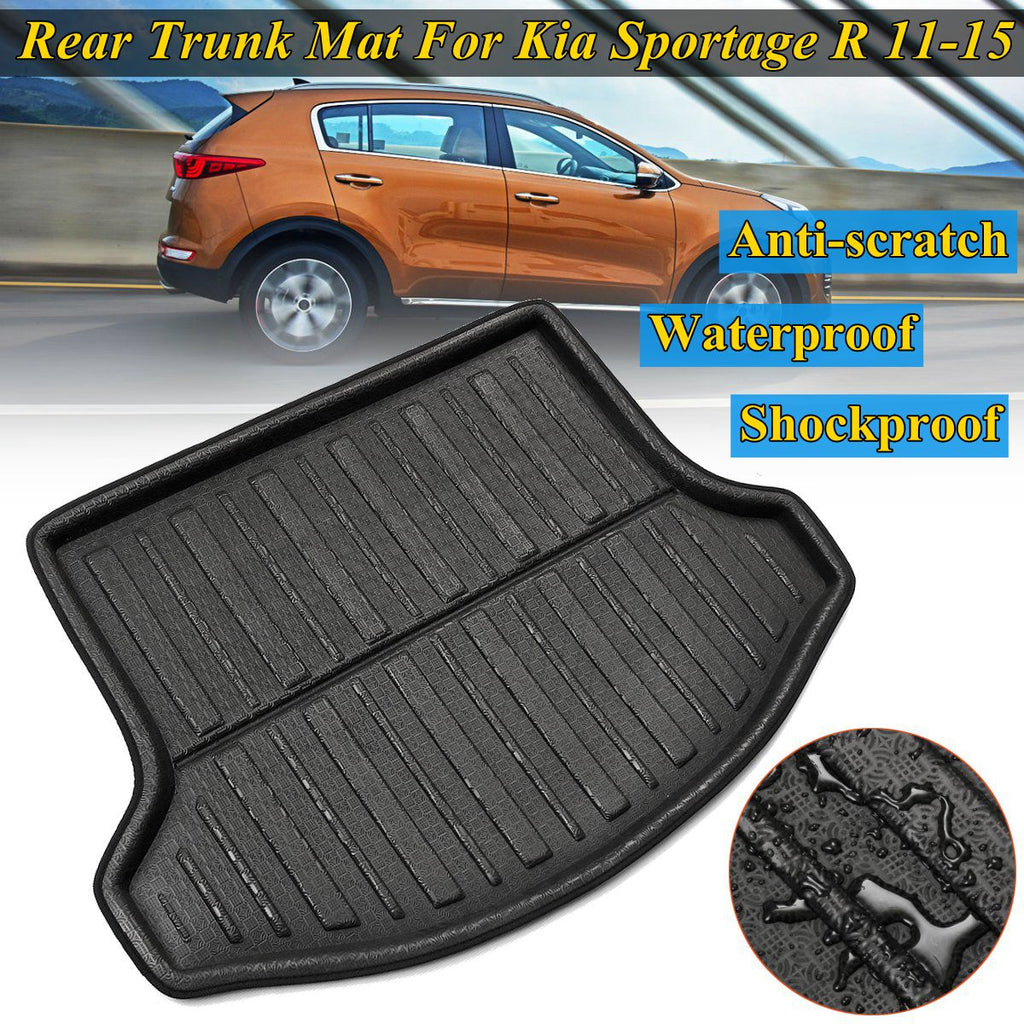 Trunk Mat Carpet Cover For Kia Sportage R 2011 2012 13 14 2015