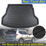 Trunk Mat Carpet Cover For Nissan X-Trail XTrail 2014-2018