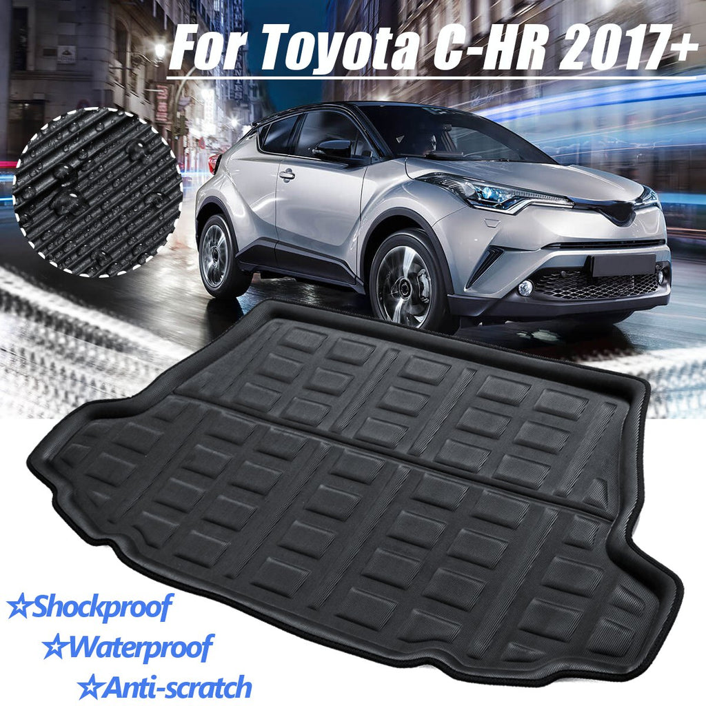 Trunk Mat Carpet Cover For Toyota C-HR CHR 2017+ 2018 2019