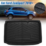 Trunk Mat Carpet Cover For EcoSport 2018+