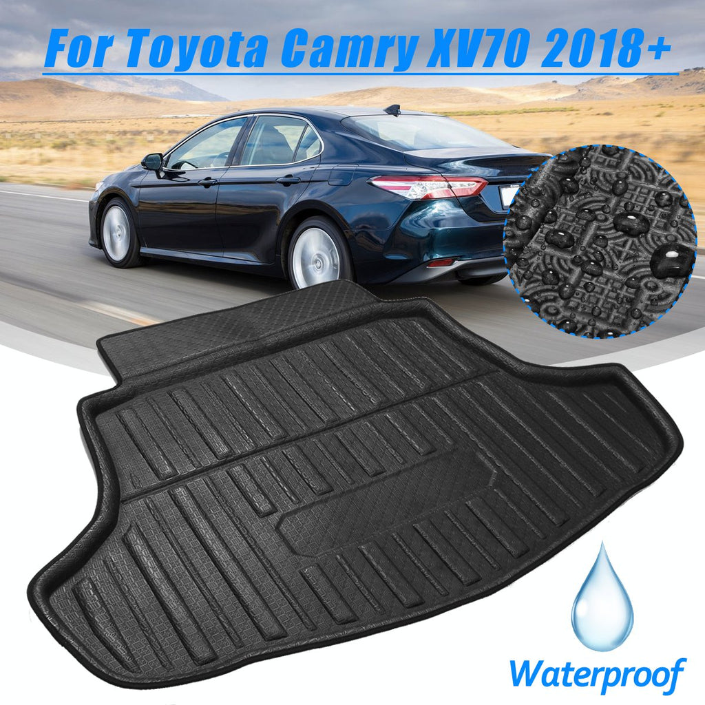Trunk Mat Carpet Cover For Toyota Camry XV70 2018 2019