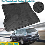 Trunk Mat Carpet Cover For Toyota Land Cruiser Prado 150 J150 2010 2011 2012 2013 2014 2015 2016 2017
