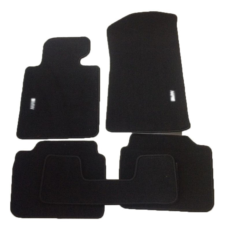 Premium Fabric Nylon Floor Mats Carpet For BMW E46 1998-2005,  - Any Car Accessories
