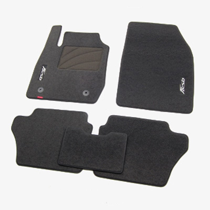 Premium Fabric Nylon Floor Mats Carpet For Ford Fiesta 2009-2016 - Any Car Accessories