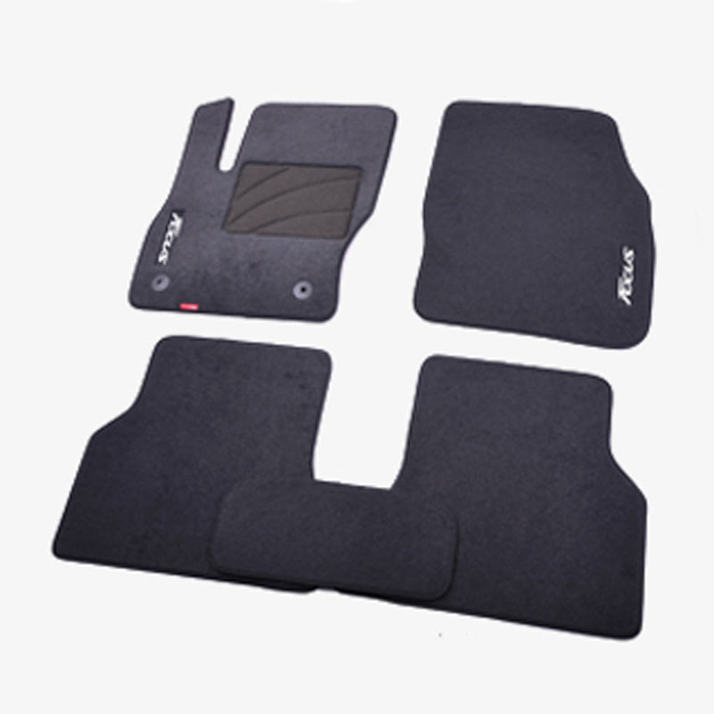 Premium Fabric Nylon Floor Mats Carpet For Ford Focus 2005-2016,  - Any Car Accessories