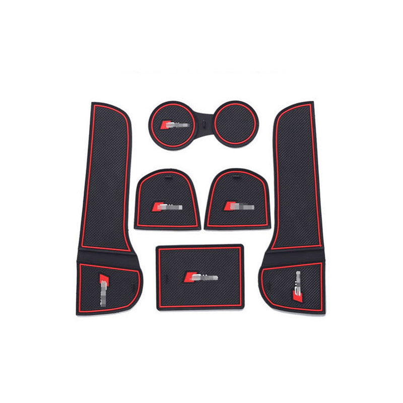 Anti-Slip Rubber Door Mats For Audi Q3 A Style,  - Any Car Accessories