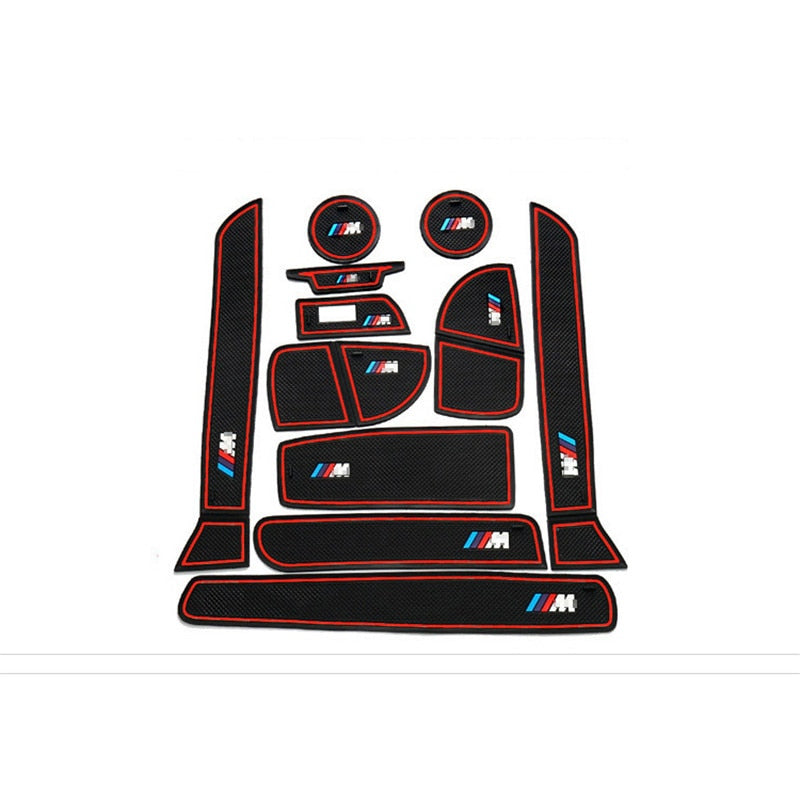 Anti-slip Rubber Door Mat  For BMW 3 Series M Style,  - Any Car Accessories