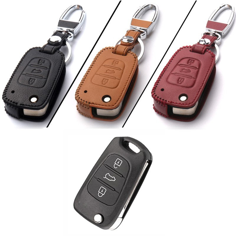 Key Remote Case Cover 3 Buttons Forr KIA Series D - Any Car Accessories