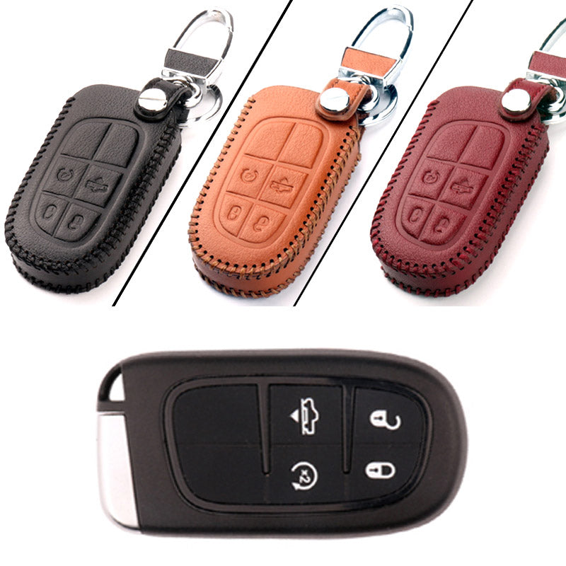 Key Remote Case Cover 4 Buttons For Jeep Dodge JCUV C - Any Car Accessories