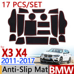 Anti-Slip Rubber Door Mat For BMW F25 X3 F26 X4 2011 2012 2013 2014 2015 2016 2017,  - Any Car Accessories
