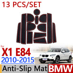 Anti-Slip Rubber Door Mat For BMW X1 E84 2010 2011 2012 2013 2014 2015,  - Any Car Accessories