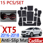 Anti-Slip Rubber Door Mat For Cadillac XT5 2016 2017 2018,  - Any Car Accessories