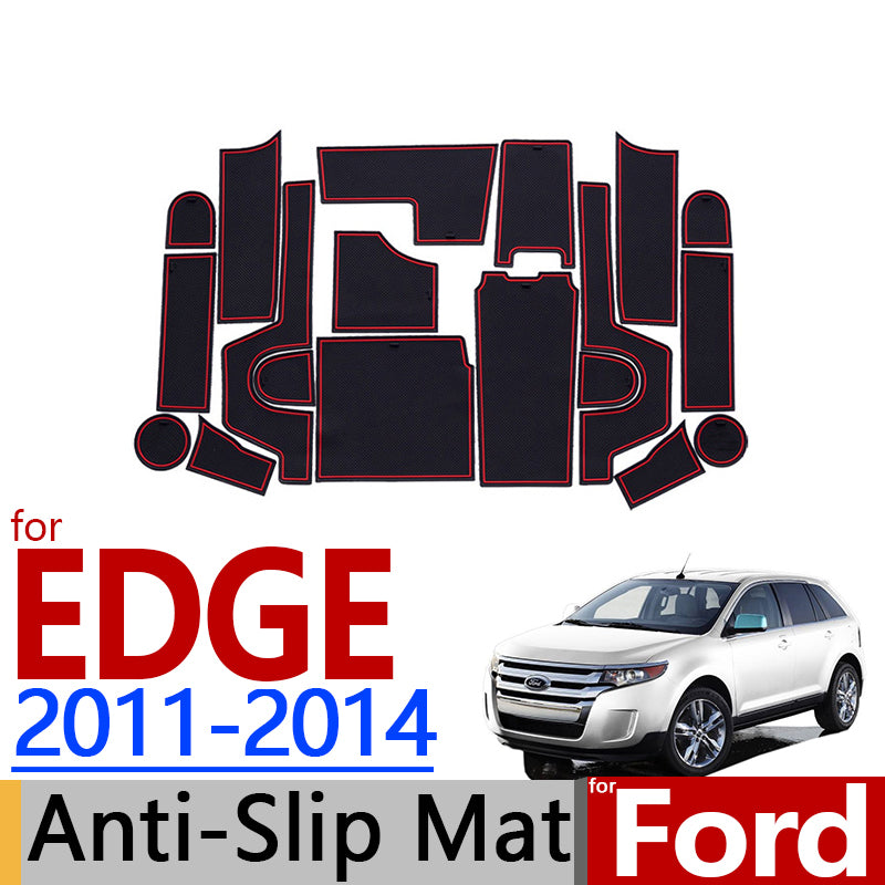 Anti-Slip Rubber Door Mat For Ford EDGE 2011 2012 2013 2014,  - Any Car Accessories