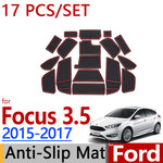 Anti-Slip Rubber Door Mat For Ford Focus 2015 2016 2017,  - Any Car Accessories