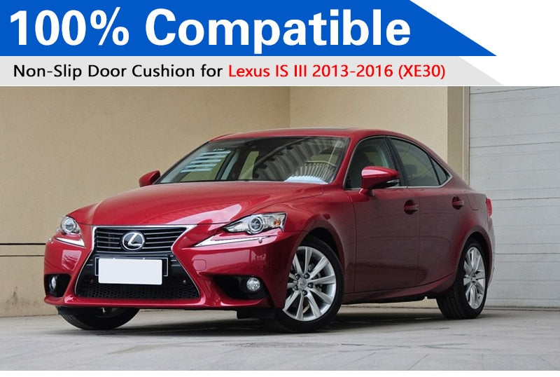 Anti-Slip Rubber Door Mat For Lexus IS 2013 XE30 2014 2015 IS200t IS350 IS300h,  - Any Car Accessories