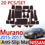 Anti-Slip Rubber Door Mat For Nissan Murano Z52 MK3 2015 2016 2017,  - Any Car Accessories
