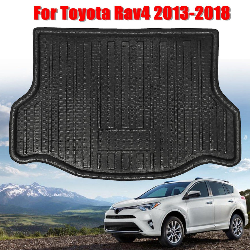 Trunk Mat Carpet Cover For Toyota RAV4 2013 2014 2015 2016 2017 2018