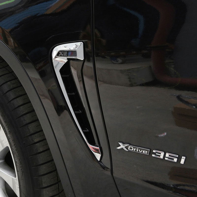 Car Side Fender For BMW X5 F15 X5M LOGO 2014 2015 2016 2017, exterior - Any Car Accessories