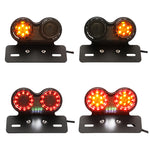 Motorcycle LED Turn Signal Brake With License Plate Holder, lights - Any Car Accessories