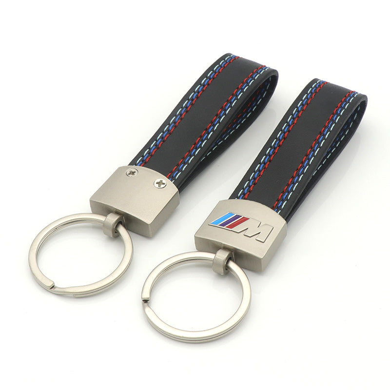 Leather Key Chain For BMW, Interior - Any Car Accessories
