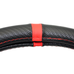 Sline Leather teering Wheel Cover For Audi A1 A3 A4 A5 A6 A7 A8 Q3 Q5 Q7 S3 S4 S5 S6 S7 S8 RS R8, Interior - Any Car Accessories