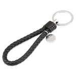 Black Leather Handmade Key chain, Interior - Any Car Accessories